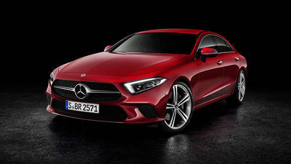 2018 Mercedes-Benz CLS revealed at 2017 LA Auto Show. India-bound for 2018