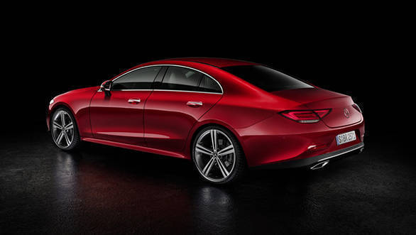 2019 Mercedes Benz Cls Four Door Coupe Launched In India At Rs 84 70