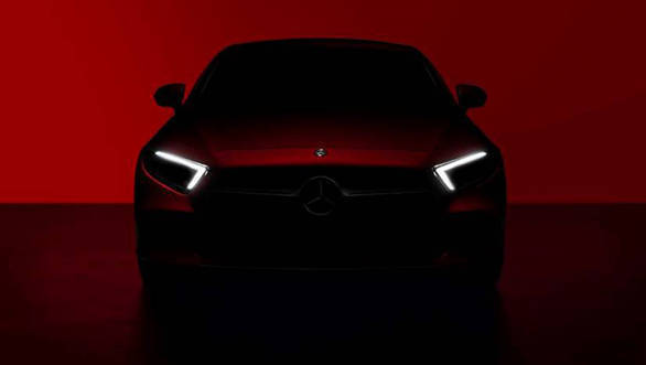 New Mercedes-Benz CLS coupe teased ahead of 2017 LA Auto Show debut