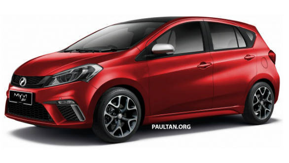 Will the 2018 Perodua Myvi SE look like this?