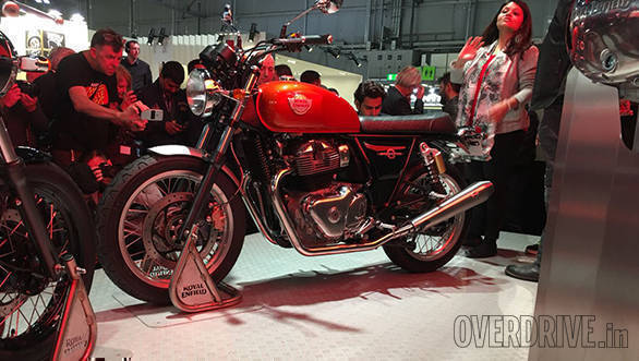 EICMA 2017: Royal Enfield Interceptor 650 Twin and Continental GT 650 Twin showcased