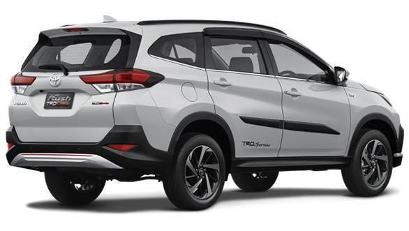 2018 Toyota Rush Suv Image Gallery Overdrive