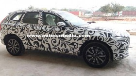 2018 Volvo XC60 SUV spied in India ahead of December launch
