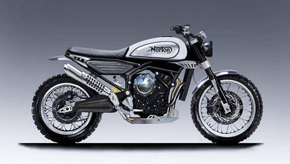 Norton reveals upcoming 650cc scrambler