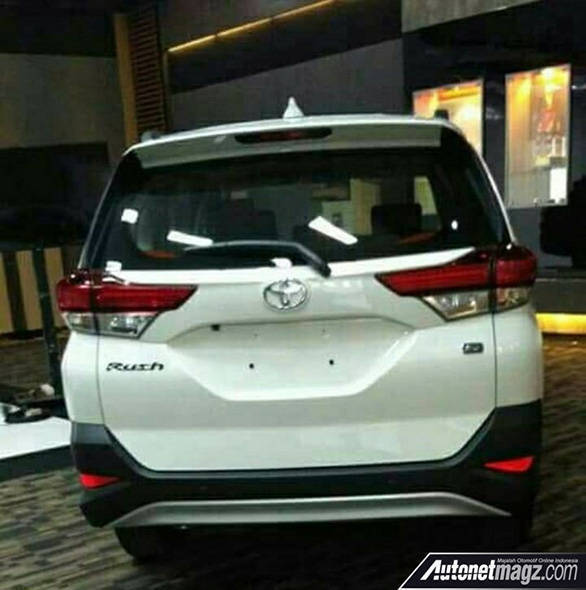 2018 Toyota Rush Images Leaked Ahead Of Launch Overdrive