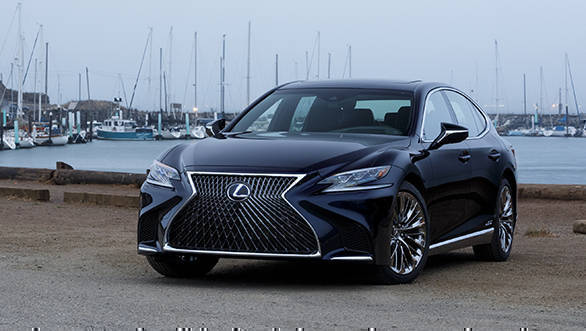 Lexus LS 500h to be launched in India on January 15