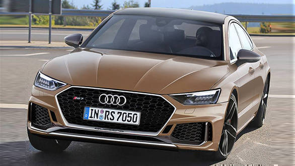 700PS new-gen Audi RS7 hybrid in works