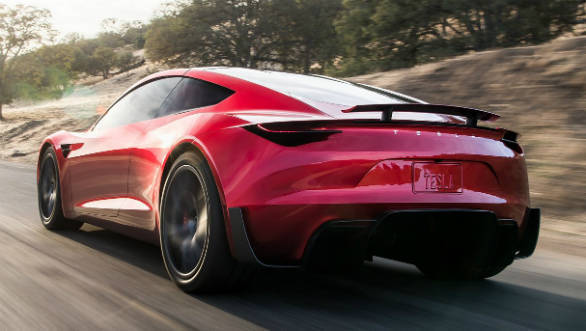 Elon Musk teases rocket-powered flying roadster