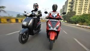 Comparo: Honda Grazia vs Suzuki Access 125