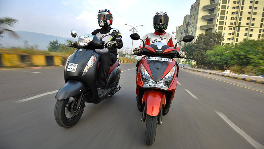 Comparo: Honda Grazia vs Suzuki Access 125