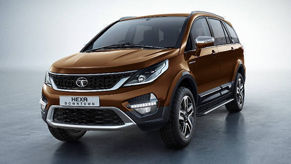 Tata Hexa Downtown urban edition launched at Rs 12.18 lakh