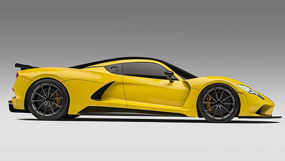 Hennessey Venom F5 to reach a maximum speed of 483kmph!
