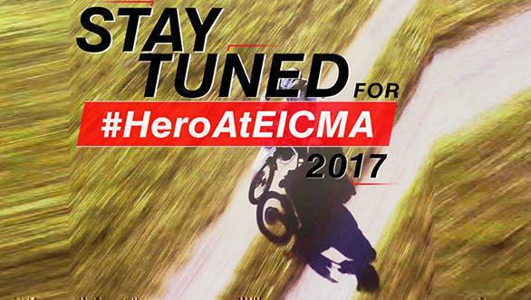 EICMA 2017: Hero MotoCorp teases new adventure bike