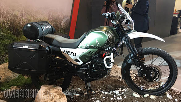 EICMA 2017: Hero XPulse Concept makes world debut, possible late-2018 launch in India