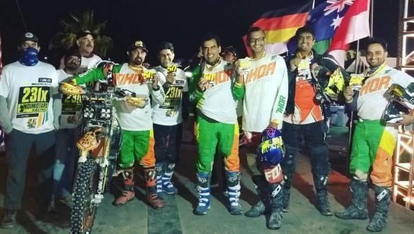 Team IndiMotard finishes 2017 SCORE Baja 1000!