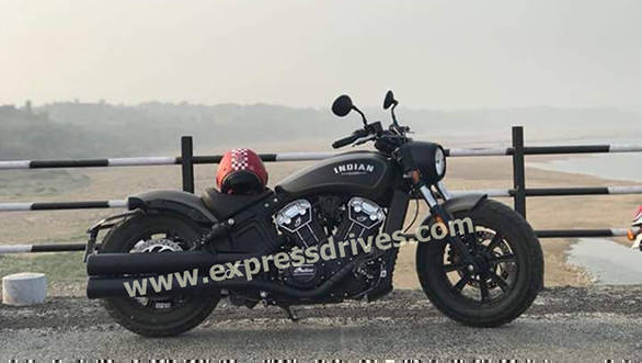 2018 Indian Scout Bobber images and price revealed before Nov 24 launch