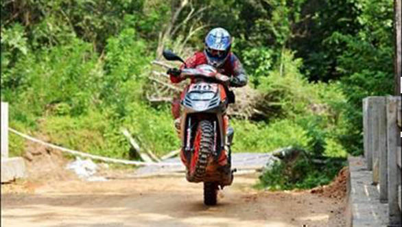 2W Indian National Rally Championship: R Nataraj clinches 2017 title in Puttur