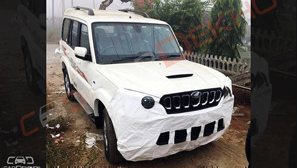 Mahindra Scorpio facelift to launch in India on November 14