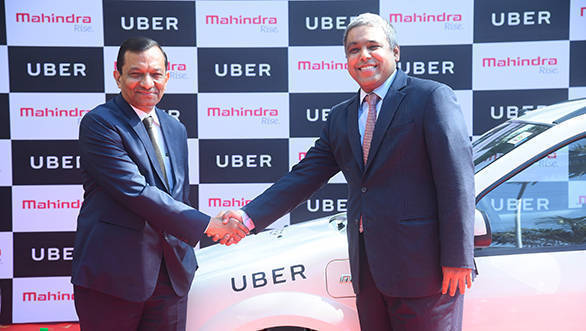 Uber partners with Mahindra to increase the electric vehicle network in the country