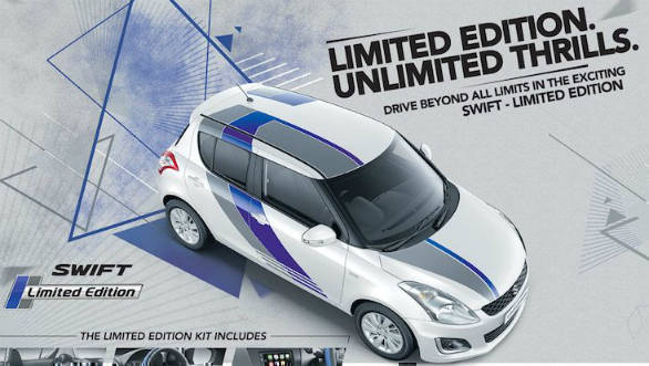 Maruti Suzuki Swift Limited Edition launched in India at Rs 5.44 lakh