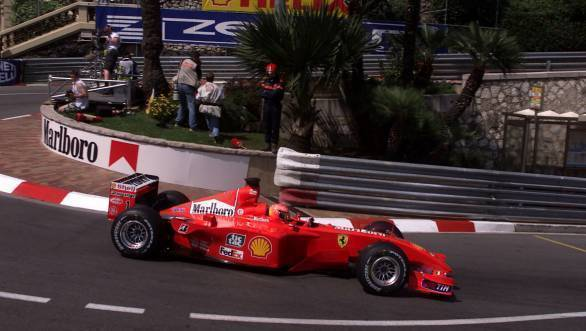 F1: Michael Schumacher's 2001 Monaco GP-winning Ferrari sells for 7 million USD