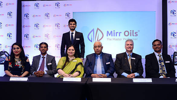 Mirr-Oils-Launched-in-India Inde dans - - - Actualité lubrifiants automobiles