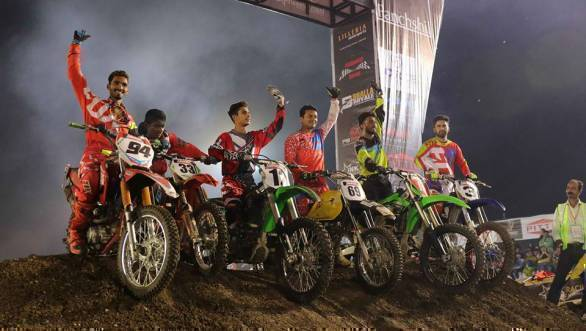 2017 Pune Invitational Supercross League: Team Stallion Riders bag crown