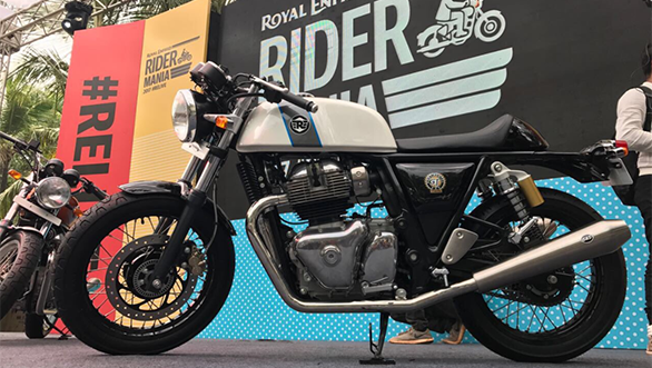 2017 Royal Enfield Rider Mania: Royal Enfield Interceptor 650 and Continental GT 650 twins make India debut