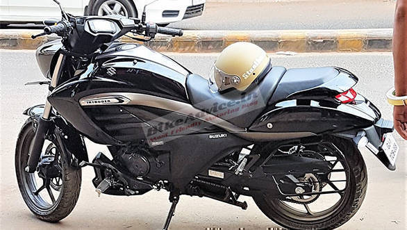 Suzuki Intruder 150 spied days ahead of launch in India