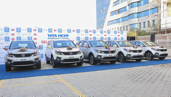 Tata Hexa launched in Nepal at NPR 77.95 lakh