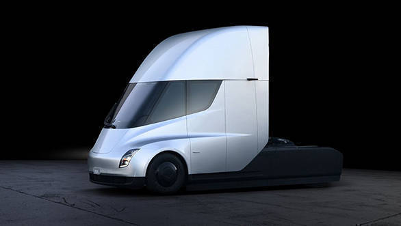 Tesla Semi electric truck with 800km range unveiled