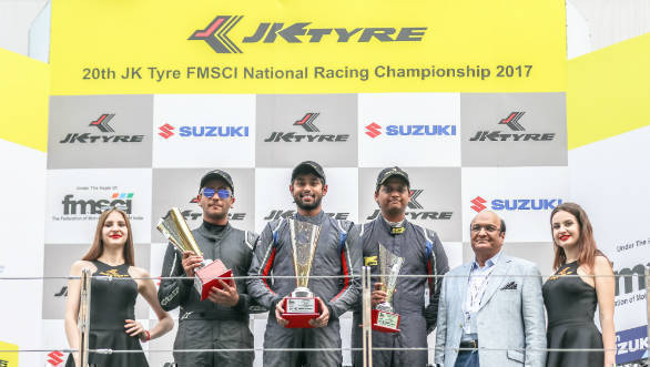 2017 JK Tyre FMSCI National Racing Championship: Anindith Reddy wins Euro JK 2017 title
