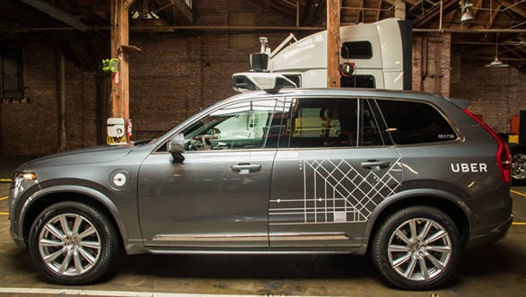Uber to buy 24000 Volvo SUVs for its driverless fleet