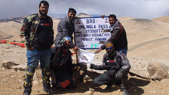 BRO builds highest motorable road pass in the world through Umlingla at 19,300 feet