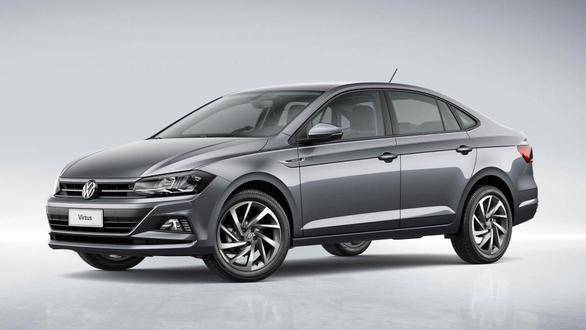 All-new Volkswagen Virtus sedan showcased in Brazil, might launch in India