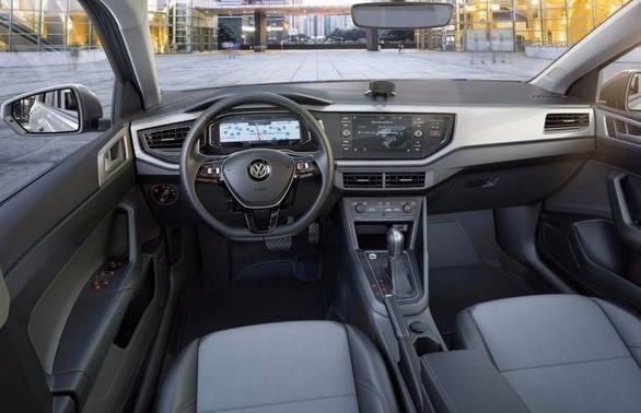 2018 Volkswagen Virtus Interior