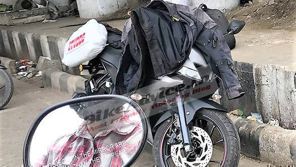 Spied: Yamaha YZF-R15 v3 India-spec motorcycle spotted testing