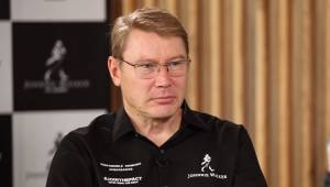 In conversation with Mika Hakkinen