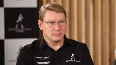 In conversation with Mika Hakkinen