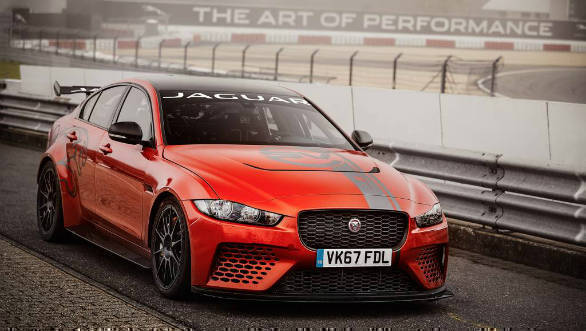 Jaguar XE SV project 8 sets new record at the Nurburgring