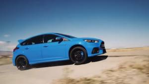 Ken Block drifting in the Ford Focus RS with Drift Stick