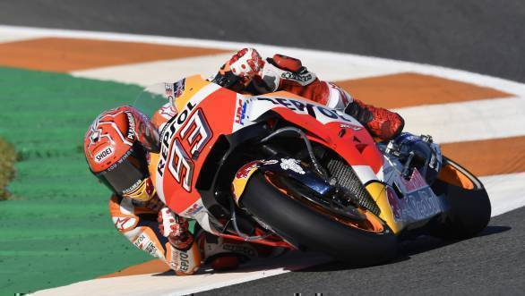 MotoGP 2017: Marc Marquez claims pole for Valencia season finale