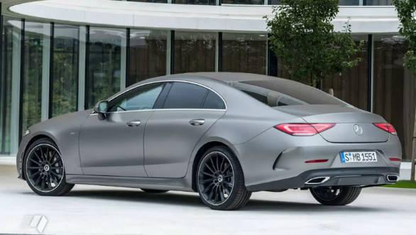 Mercedes-Benz CLS Unmasked