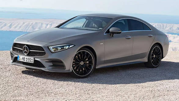 Los Angeles Motor Show:  2018 Mercedes-Benz CLS-Class images leaked