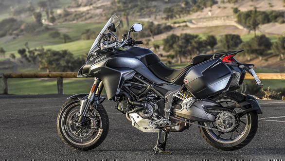 2018 Ducati Multistrada 1260 S right side static
