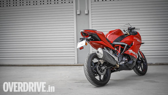 2017 Tvs Apache Rr 310 First Ride Review Overdrive