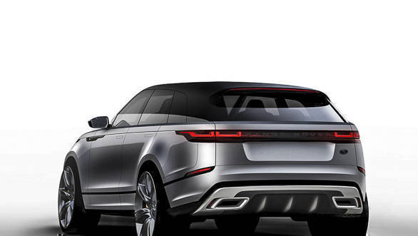 range rover velar suv launched in india image gallery overdrive. Black Bedroom Furniture Sets. Home Design Ideas