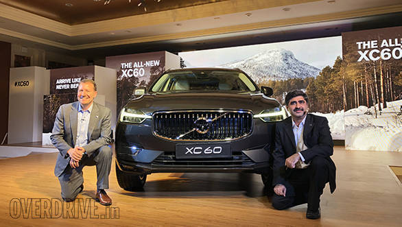 2018 Volvo XC60 launched in India at Rs 55.9 lakh