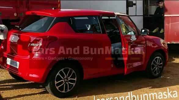Spied: India-spec 2018 Maruti Suzuki Swift