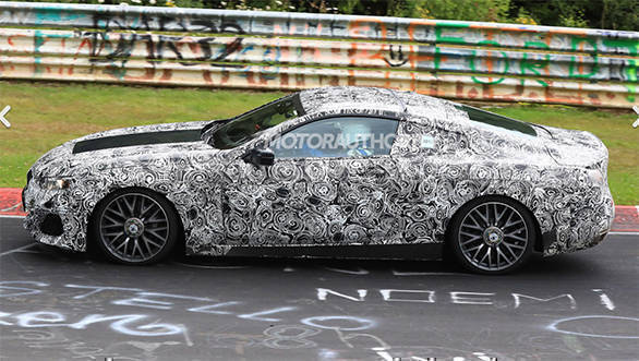 Spied: 2020 BMW 8 Series coupe spotted testing